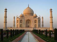 Taj Mahal at sunset by betta design