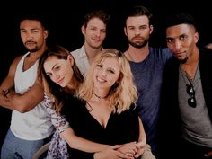 The Originals cast → TVLine Portrait Studio #sdcc2016