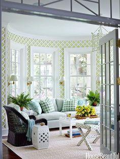 garden-inspired sunroom
