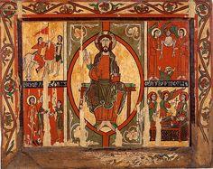 Anònim   Frontal d'altar de Sant Martí de Puigbò  Tallers de Vic Primer quart del segle XII