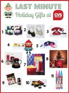 Last Minute Holiday Gift ideas at CVS Pharmacy!