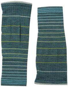 Sockwell Women's Compression Stripe Leg Sleeve Sock, Medium/Large, Teal