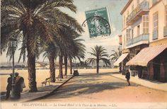 1926 Philippeville - Le Grand Hôtel.
