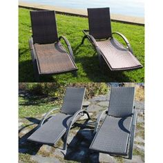 Kirkland Signature Commercial Sling Chaise Lounge Costco