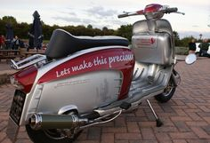 Scooter Custom, Mod Scooter, Northern Soul, 60s Mod, Motown, Scooters, Cars And Motorcycles, Rally, Vintage