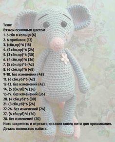 Knit amigurumi: Gestrickte Maus