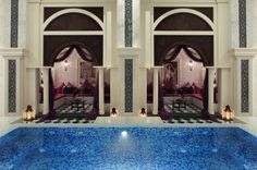 ''Jumeirah Zabeel Saray'' by Arketipo Design #Interior #Spa #Relaxation #Oriental