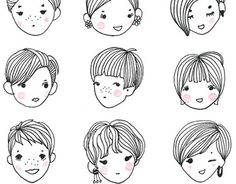 """Check out new work on my @Behance portfolio: """"The best lovely style, Short hair."""" http://be.net/gallery/34837039/The-best-lovely-style-Short-hair"""
