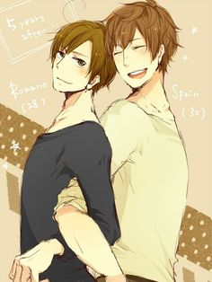 im glad they are now best frieands<---Sí Romano is my best friend when I need him~ pero Roma es mi querido también