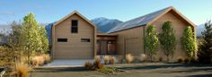 Jacks Point Home, Queenstown, New Zealand - under 20 kWh/m2 - www.climatehouse.co.nz
