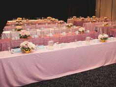 Ice Pink Caviar, Rose Pink Caviar, Dusty Pink Satin  @WPIC