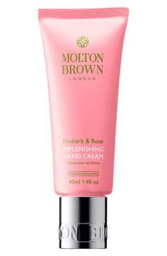 MOLTON BROWN London 'Rhubarb & Rose' Replenishing Hand Cream (Limited Edition) available at #Nordstrom