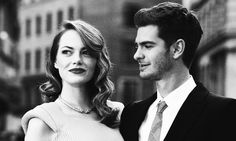 The cutest couple; Andrew Garfield and Emma Stone.