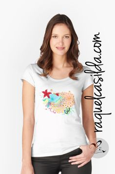 More Wearable Art! 😊 We can wear and share our passion for nature with everyone around with this #colourful #tshirt . I hope you enjoy this design, especially you nature lover mates! 😚 Let me know in your comments what you think about this #illustration on this #tshirtdesign 😉 You are the fuel for my work! ❤️ You can get this and more artist-design products directly in my profile at http://www.redbubble.com/people/raquelcasilda . Also you can get it through my shop in my website.