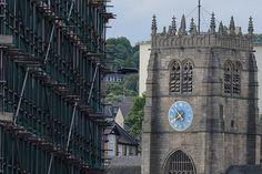#Bradford #Cathedral #BradfordCathedral #CityCentre #Clock #WestYorkshire #Yorkshire #Scaffolding