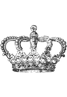 Simplicity Creative Group - Crown Home Decor Iron On Transfer