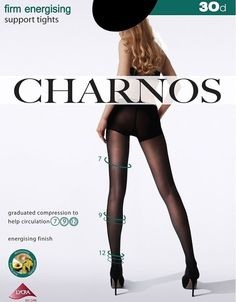 Charnos Firm Energising Support  Sheer Pantyhose