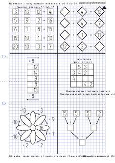 www.kaligrafowanie.pl ?q=node 34&p=3 Fun Math, Periodic Table, Students, Barn, Ideas, Therapy, Xmas, Maths Fun, Periodic Table Chart