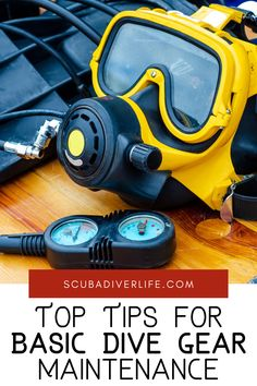 Choosing between different styles and brands of diving equipment and weighing recommendations and personal preferences may seem hard enough, but it would be positively heartbreaking if you damaged your new gear simply because you didn't look after it. Never fear — you needn't become a scuba technician just yet to keep this from happening. #diving #scubadiving #scubadivinggear #divegear #divegearmaintenance #scubadivinggearmaintenance