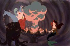 Underwater witchcraft <3 The ultimate transfiguration scene.