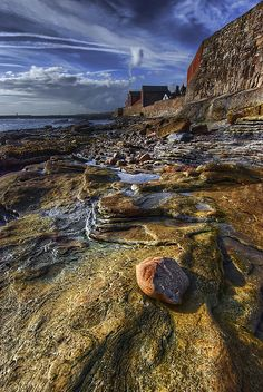Cellardyke Rocks, Fife, Scotland