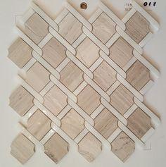 MOSAIC-TILES-30-x-30cm-Marble-Tile-White-Grey-Beige-Kitchen-Bathroom-Wall-8mm