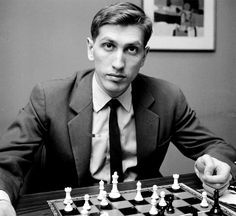 """Happy Birthday to the one and only Bobby Fischer. Robert James """"Bobby"""" Fischer was an American chess prodigy, grandmaster, and the eleventh World Chess Champion. Many consider him the greatest chess player of all time. Magnus Carlsen, Bobby Fischer, Barbara Streisand, How To Play Chess, Chess Players, Famous Last Words, The Grandmaster, Chess Pieces, Smart People"""
