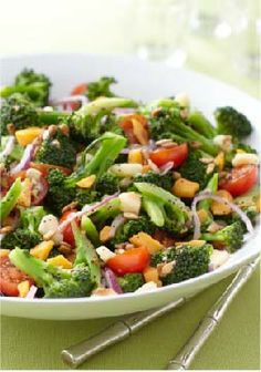 Marinated Broccoli-Tomato Salad – Move over, potato salad—these veggies are stealing your spot at the buffet. A bountiful salad with crunch and cheesy goodness in every better-for-you bite.