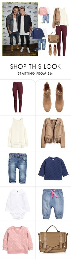 """""""Launch of David Beckham for H&M with Lían,Niall and the childs"""" by famousstyles-dp ❤ liked on Polyvore featuring H&M, Topshop, women's clothing, women's fashion, women, female, woman, misses and juniors"""