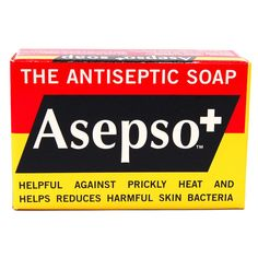 Asepso The Antiseptic Soap 2.8oz