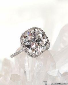 cushion cut engagement ring #engagement #diamond