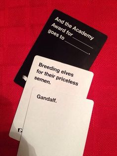 """The Best Of """"Cards Against Humanity"""" - 20 Pics Funniest Cards Against Humanity, Cards Of Humanity, Cards Agains Humanity, Funny Quotes, Funny Memes, Hilarious, Jokes, Horrible People, Funny Cards"""