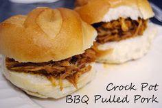 Modern Woman: Crock Pot BBQ Pulled Pork