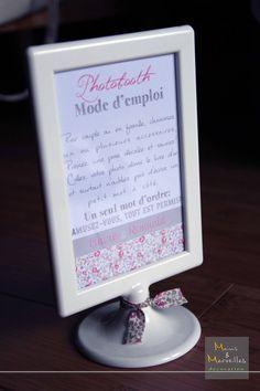 mode d 39 emploi photobooth inspiration mariage pinterest. Black Bedroom Furniture Sets. Home Design Ideas