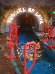 Tunnel of Love boat ride - I remember they had this ride at Coney Island, Cincinnati