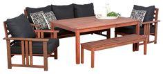 Timbersofasets Gloucester Sofaset Segals Outdoor Furniture Outdoor Sofa Sets Outdoor Furniture