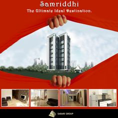 Sabari Group - Real Estate Developers #Samriddhi A #residentialcomplex on L.B.S. Road, Bhandup with affordable yet extremely comfortable #homes of all sizes, ranging from 1BHK to 3BHK #Flats with all the necessary #amenities and comforts…