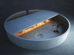 marwan zgheib architects / ring house concept