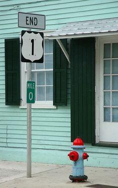 End US Route 1 ~ Key West Florida