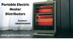 GetDistributors is an ideal platform that offers you the golden opportunity to appoint or want to become Distributor of Portable Electric Heater from various industries in pan India #PortableElectricHeaterdistributors #PortableElectricHeaterdistributorship #PortableElectricHeaterwholesaledealer #PortableElectricHeaterHeaterdealers #distributors #onlinebusiness #satrtups #manufactur