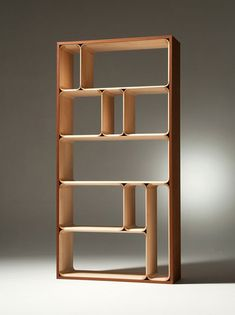 """Yukihiro Yamaguchi Hako bookcase.  I now have a """"dream bookcase"""" that I will forever strive to attain in my own space (whether through purchase - preferable - or Ikea hacking)."""
