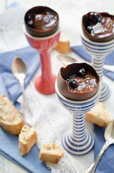 Zabaglione i chokladskal