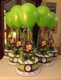 Monkey Baby Shower Decorations
