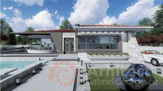Casa parter 29 | Proiecte de case personalizate | Arhitect Gabriel Georgescu & Echipa Outdoor Decor, Home Decor, Style, Houses, Swag, Decoration Home, Room Decor, Home Interior Design, Outfits