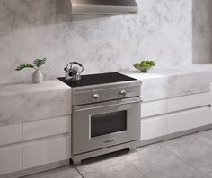 36 induction range w