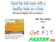 Don't trust the cafeteria lunches. Educate your children about healthy food choices and get them involved in the kitchen. Try our healthy Mac & Cheese recipe @ www.GetFitFaster.ca and avoid trans fats! - http://www.getfitfaster.ca/marvellous-mighty-mac-and-cheese/?rq=marvellous