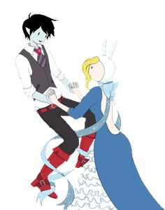 Adventure Time With Finn and Jake Photo: come dance with me Marshall Lee, Cartoon Art, Cartoon Characters, Friday Dance, American Cartoons, Gender Swap, What Time Is, Nerd Herd, Couple Cartoon