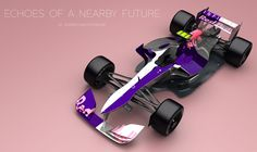 Formula One Cars Reimagined by Artist Andries van Overbeeke: Check out these futuristic concept car ideas for McLaren-Honda, Williams and Red Bull. Formula 1 Car, Indy Cars, First Car, Exotic Cars, Red Bull, Design Model, Concept Cars, How To Introduce Yourself, Cool Cars