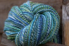 June 2016 // Long Beach // SW Merino // spindle spun, traditional 2-ply, worsted weight