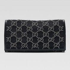 Gucci 228832 H7scr 8644 Journal'Evening Tasche mit G-Skript Ornament Gucci Damen Handtaschen